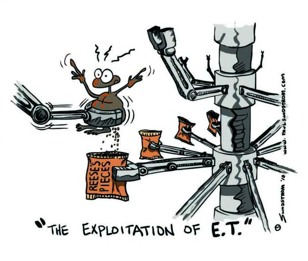 """The Exploitation of E.T."""