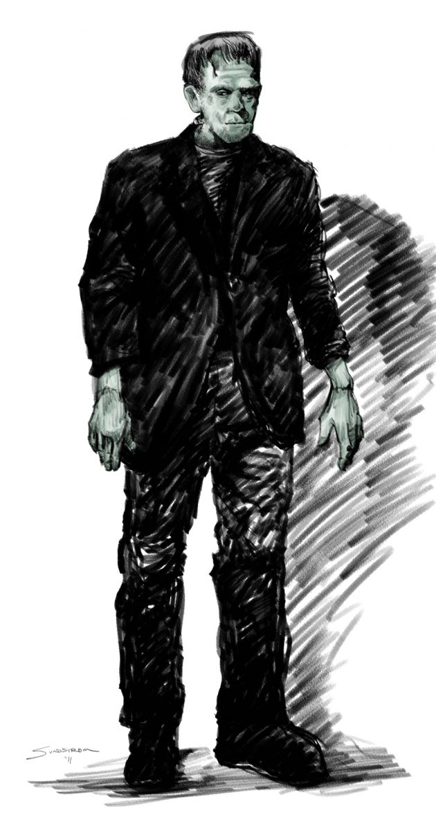 "Why Frankenstein says ""ARGH!!"""