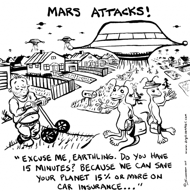 """MARS ATTACKS!"""