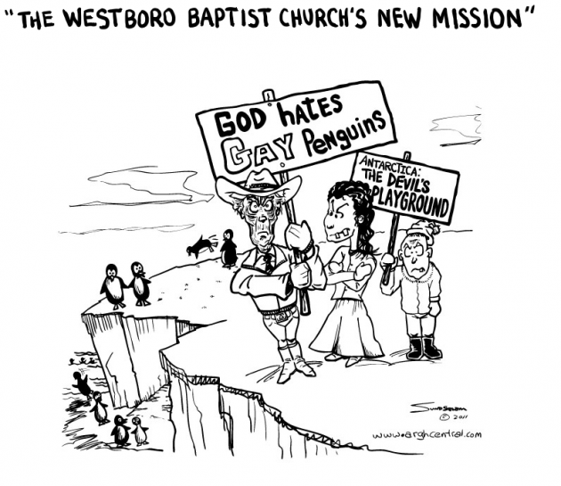 """The Westboro Baptist Church's New Mission"""