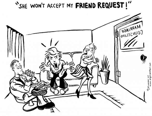 "Monday ""ARGH!"" 'Toon – ""Friend Request"""