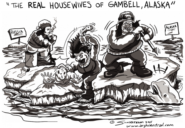 "Thursday POP ""ARGH!"" – ""The Real Housewives of Gambell, Alaska"""