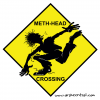 """Meth-Head Crossing"""