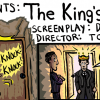 "Movie Review Cartoon – OSCARS EDITION – ""The King's Speech"""