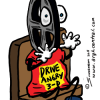 """Movie Review Cartoon – """"Drive Angry 3-D"""" – Preview"""