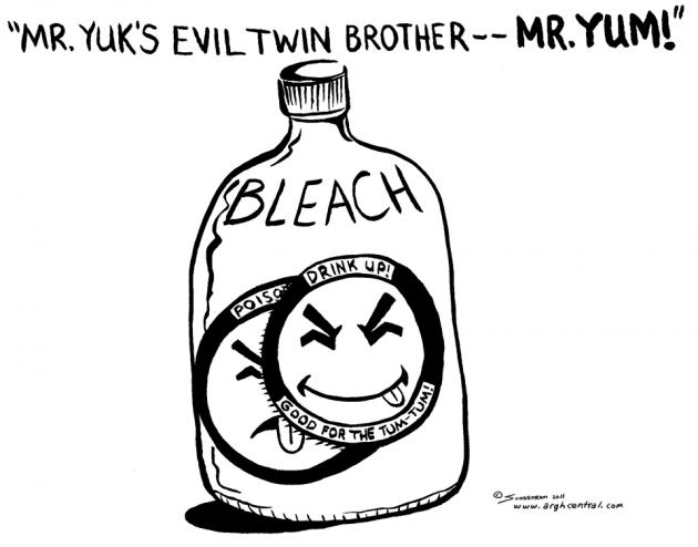 "Monday ""ARGH!"" 'Toon – ""Mister Yuk's Evil Twin"""