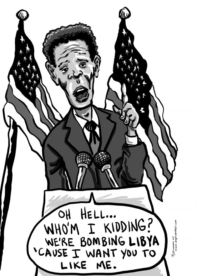 "Thursday POP/News ""ARGH!"" – ""Obama's Address"""