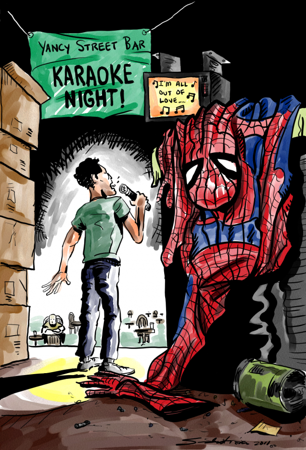 "Thursday POP/News ""ARGH!"" – ""Spider-Man Turn Off The Dark-Reboot"""