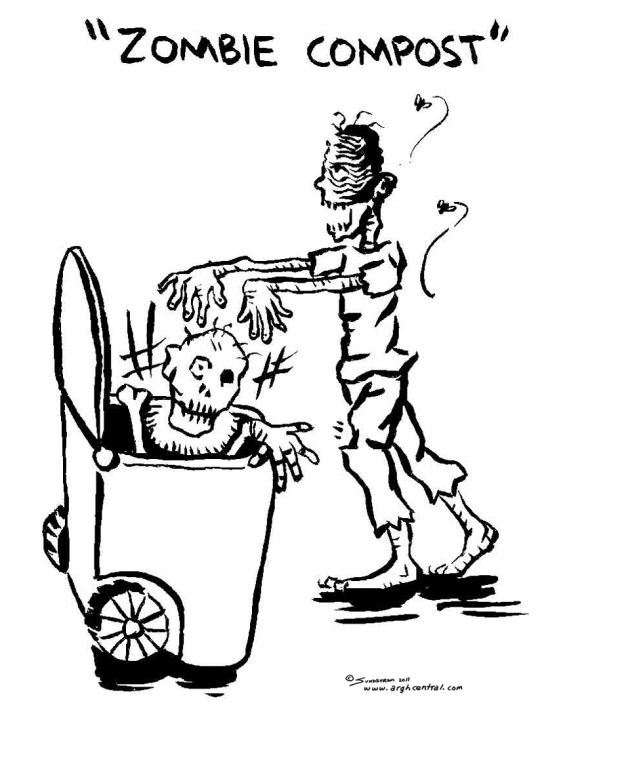 "Monday ""ARGH!"" 'Toon – ""Zombie Compost"""