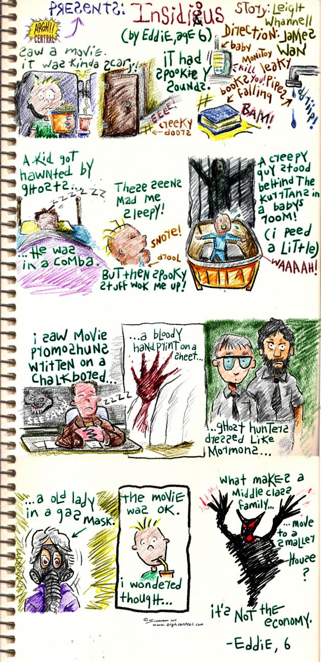 """Movie Review Cartoon™ – """"INSIDIOUS"""""""