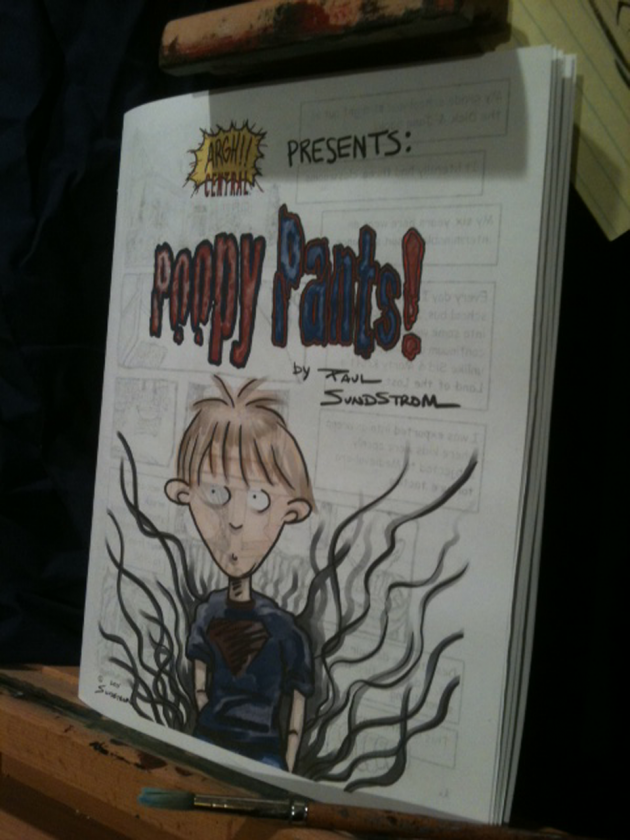 """""""Poopy Pants"""" – The Comic Book! – FOR SALE!"""