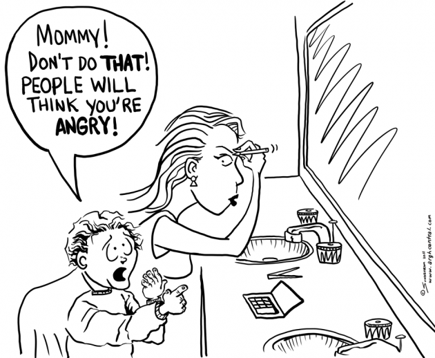 "Special Mother's Day ""ARGH!"" 'Toon – ""Mad Mom"""